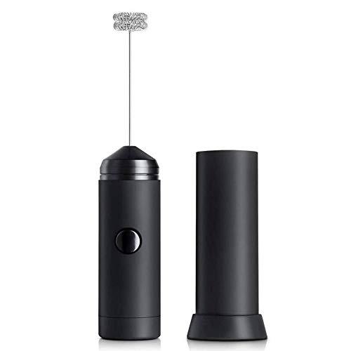 Elektrischer Schneebesen, Milchaufschäumer Handbatteriebetriebener elektrischer Schaummischer für Kaffee/Latte/Cappuccino/Milch - Reise, Haus und Büro -