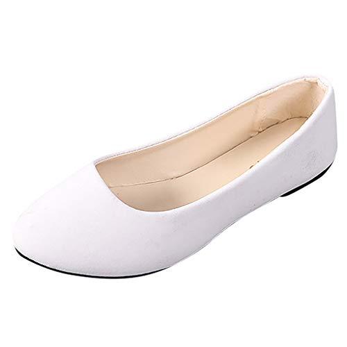 Ashui Damen Wanderschuhe Mokassins Mode Wild Stiefel Freizeit Atmungsaktiv Leder Loafers Walkingschuhe Halbschuhe Slippers Erbsenschuhe Fahren Flache Schuhe Bootsschuhe