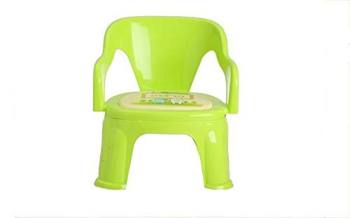HongTeng Baby Wird als Stuhl aus Plastikstuhl bezeichnet. Kleine Bank 38 * 32 * 19cm (Color : Green) -