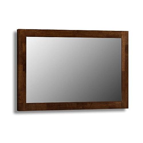 Very Dark Wood Mirror: Amazon.co.uk FN69