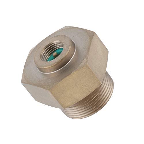 Top-ventil Regler (SM SunniMix Campingkocher Adapter Schlauch Ventil - Messing)
