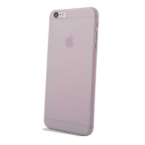 Finoo ® | Iphone 6 / 6S Handy-Tasche Schutzhülle | ultra leichte transparente Handyhülle aus weichem und flexiblen Silikon | kratzfester stoßdämpfende TPU Schale mit Motiv | stylisches Cover Etui | Ca Pink