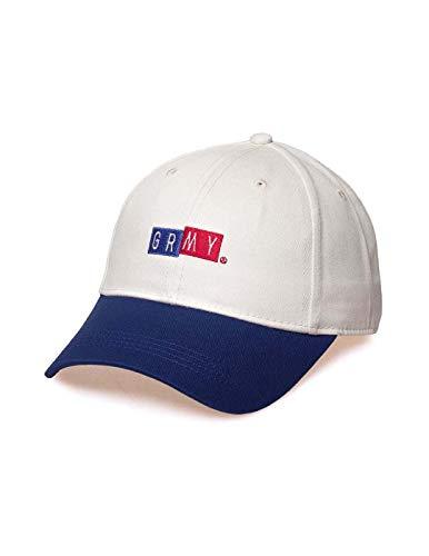 Imagen de grimey  f.a.l.a curved visor cap ss19 white strapback alternativa