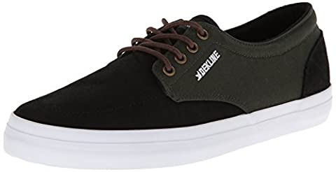 Dekline Men's Mason Skate Shoe,Black/Rosin,11.5 M US