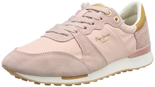 Pepe Jeans Bimba Soft, Zapatillas para Mujer, Rosa (325PINK 325), 40 EU