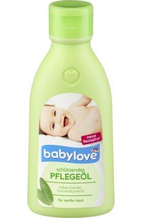 babylove Babyöl Pflegeöl, 250 ml