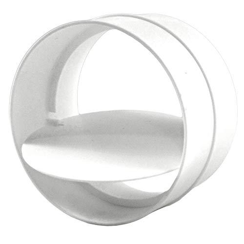 calimaero RKK 100 mm Verbindungsstück mit Rückstauklappe Rohrverbinder