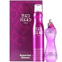 TIGI Bed Head Superstar Volume Gift Set (Blowdry Head Superstar Lotion Bed)