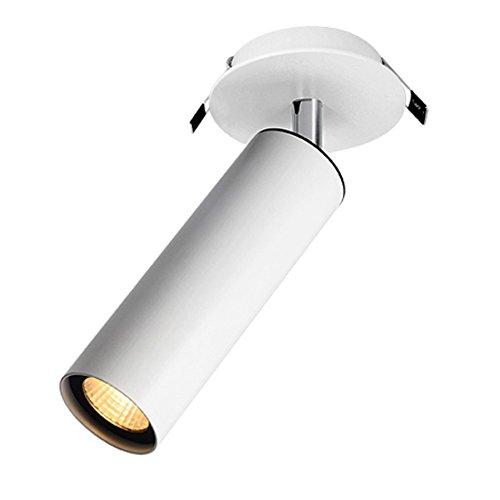 Spot LED éclairage Tableau plafond Orientable encastrable ILYAS CREE 12W IRC90 blanc chaud 3000K 10° LEDart