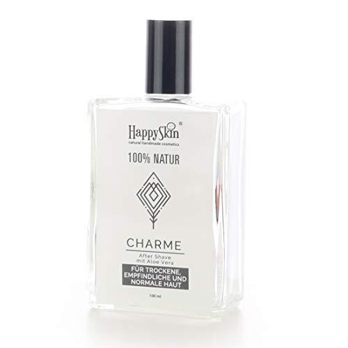 HappySkin CHARME pflegendes After Shave mit Aloe Vera. Be Happy Skin! - Pflegende Naturals Aloe