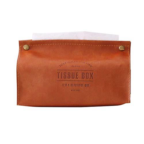 Carry stone PU Leder Papier Rack Elegante Königliche Büro Auto Home Rechteck Tissue Box Container Handtuch Serviette Tissue Halter Serviette De Li