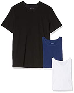 BOSS Men's RN 3P CO T-shirt, Pack of 3, Multicolor 480, Large (B07G4HCS7T) | Amazon price tracker / tracking, Amazon price history charts, Amazon price watches, Amazon price drop alerts