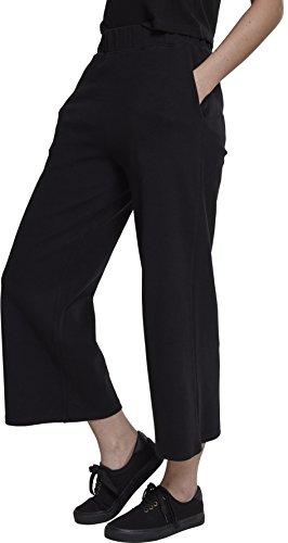 Urban Classics Damen Ladies Culotte Sporthose, Schwarz (Black 00007), 40 (Herstellergröße: L)