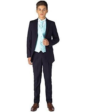 Paisley of London, Muchachos Azul Marino trajes, trajes de los niños Slim Fit, página chico trajes, niños boda...