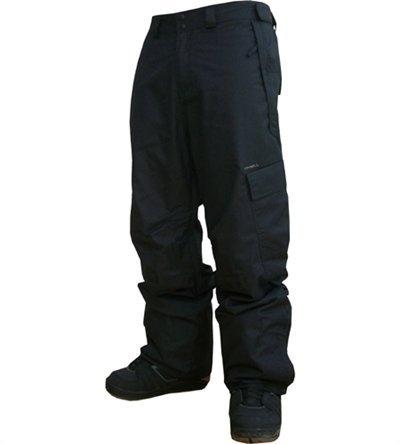 O'Neill Laufzeit Black Out Snowboard Hose XL schwarz