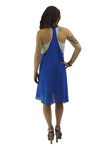 Silvian Heach - Robe - Sans Manche - Femme Bleu
