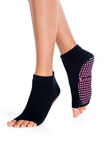 lowest price b7723 cc746 Calzini Antiscivolo Yoga Donna, Calze Antiscivolo Adulto, Palestra  Abbigliamento Danza Pilates Attrezzi Grip Socks Calzini da Yoga in Cotone  di ...