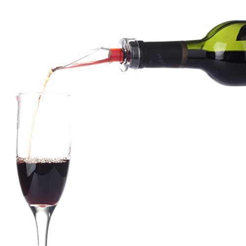 House full of romance Tragbare Belüftung Plus Dekanter, Sauerstoffweinausgießer Rotweinflaschenverschlussbelüfter Einfach zu verwenden Full-dekanter