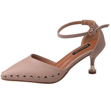 Femmes 039s Sandales Slingback Été Pu Casual Wedge Boucle Talon Walkingblush Pinkus7.5 Ue38 Uk5.5 Cn38 Us5.5 / Eu36 / Uk3.5 / Cn35
