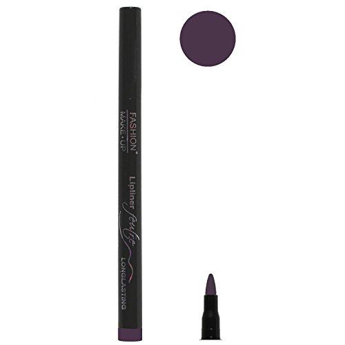 Feutre Semi Permanent Lip Liner - Couleur Prune - Effet Tatouage Contour des Levres Maquillage