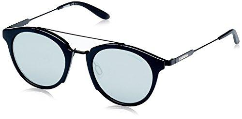 Carrera Mirrored Oval Unisex Sunglasses - (CARRERA 126/S 6UB 49T4|49|Silver Color) image