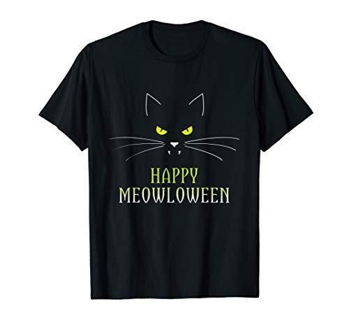 Vampir Katzenliebhaber Halloween Meowloween Kitty Kostüm  ()
