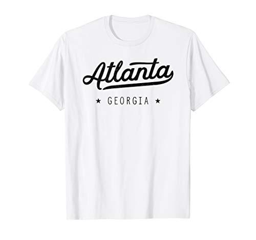 Retro Classic Atlanta ATL Georgia Throwback Gift T-Shirt - Georgia Classic-shirt
