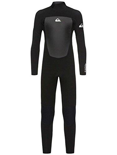 Quiksilver 4/3mm Prologue Combinaison de Surf/Plongée Garçon, Black, FR : M (Taille Fabricant : 12)