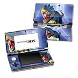 Nintendo 3DS Skin Schutzfolie 4-teilig für alle Seiten Design modding Sticker Aufkleber Big Rex