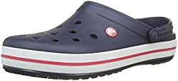 crocs Unisex-Erwachsene Crocband U' Clogs, Blau(Navy), 41/42 EU