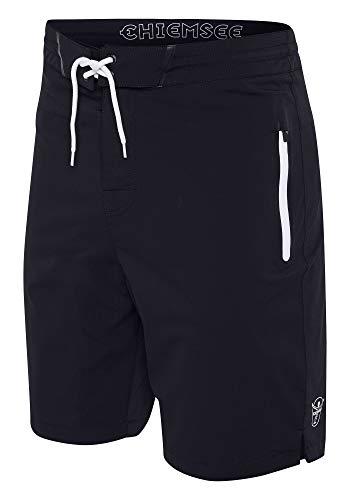Chiemsee Herren Boardshorts Men Badeshorts, Deep Black, 38