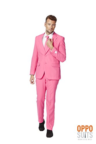 Pinker Anzug von Suitmeister (Shirt Minion Halloween)