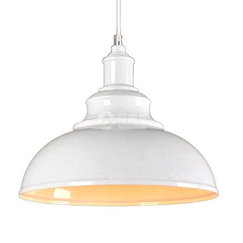 Hängeleuchte Industrielampe Eisen Retro Lampenschirm Hängelampe Pendelleuchte
