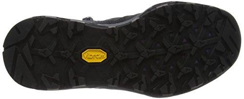 The North Face Hedgehog Hike Mid Gore-Tex, Chaussures de Randonnée Hautes Femme Gris (Dark Shadow Grey/wood Violet)