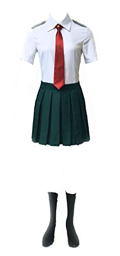 Chong Seng CHIUS Cosplay Costume Midoriya Izuku Ochako Uraraka Summer School Uniform Ver 1