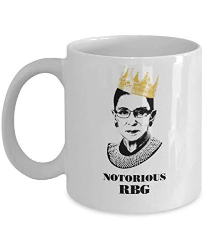 Notorious RBG Mug - Ruth Bader Ginsberg Mug (White) - I Dissent Mug - Ruth Bader Ginsberg Coffee Mug Cup - 11oz Ruth Bader Coffee Mug Cup is The Perfect Ruth Ginsberg Merchandise - Ginsberg Gift