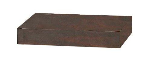 Java Exclusiv 57091 4 Böden 39,5 cm zu Anbauwand Sanaga Kiefer massiv T/B/H 36,5x39,5x6,5 cm, Kolonialstil