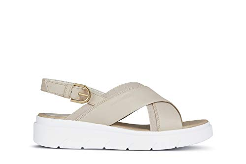 Geox D92DLA 000BC Sandalo Donna Beige 38