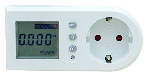 Preisvergleich Produktbild as - Schwabe Energiekosten-Messgerät, Stromverbrauch und Energiemessgerät, 1 Stück, weiß, 24051