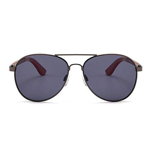 Z&YQ Sonnenbrille Unisex Wayfarer Style mit UV400 Sonnenschutz Retro Brille , shot gray frame