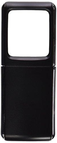Preisvergleich Produktbild Lupe Eckig Beleuchtet Led inklusive Batterie, FarBlatt Sort, 1 Stück