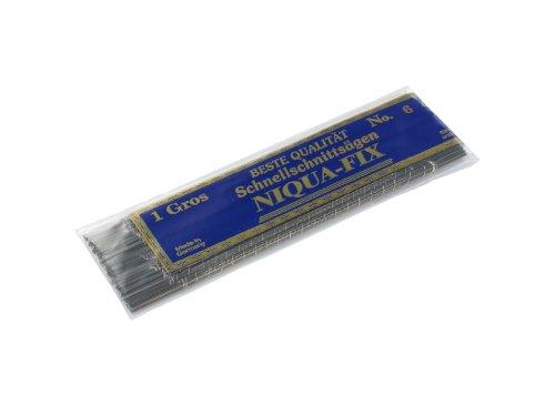 Laubsägeblätter NIQUA FIX GELB Holzlaubsägeblätter Nr: 3 Abmessung 0,34 mm x 0,80 mm Dutzend