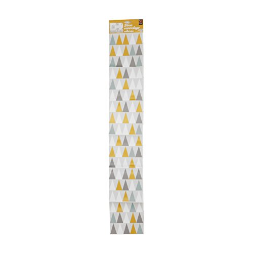 PLAGE 260542 Smooth - Tiles Fliesen sticker Skandinavisch, 6 Bogen, Vinyl, bunt, 15 x 0,1 x 15 cm