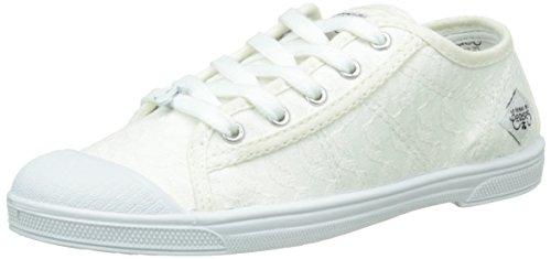 Le Temps des Cerises Mädchen Lc Basic 02 Schnürhalbschuhe Weiß - Blanc (Dentelle) 5b77Ro6A