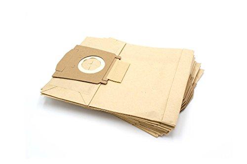 vhbw 10 Staubsaugerbeutel Filtertüten aus Papier für Staubsauger Kärcher 1000, 6.904-239, 6.904-239.0, 6.904-329, A1000, A1001