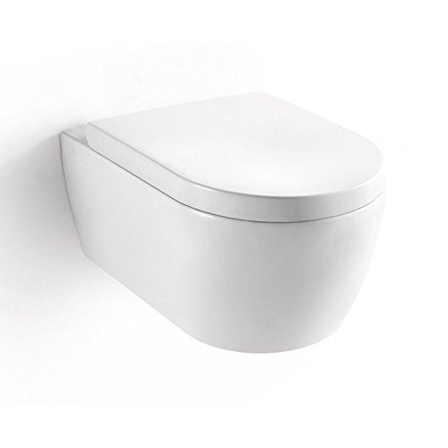 NEG Hänge-WC Uno11, mit geschlossenem Unterspülrand