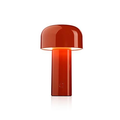 FLOS Bellhop Battery, policarbonato, Rojo, 12,5x 21cm