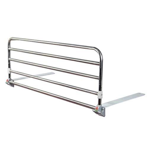 Laufstall Faltbare Bett-Schienen-Schutz-Sicherheitsseite, ältere Erwachsene unterstützen Griff-Handikap-Bett-Geländer, tragbares Krankenhaus-Metallgriff-Stoßstange (größe : 90cm) -