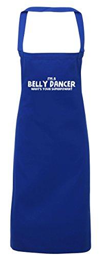 Diy Kostüm Ballett (hippowarehouse I 'm a Bauch Dancer What 's Your Superpower Schürze Küche Kochen Malerei DIY Einheitsgröße Erwachsene, königsblau,)