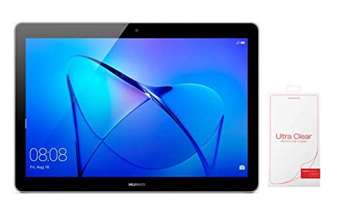 HUAWEI MediaPad T3 10 Wi-Fi Tablette 9.6' Gris Bundle avec Film de Protection écran (16 Go, 2 Go de RAM, Android 7.0, Bluetooth)